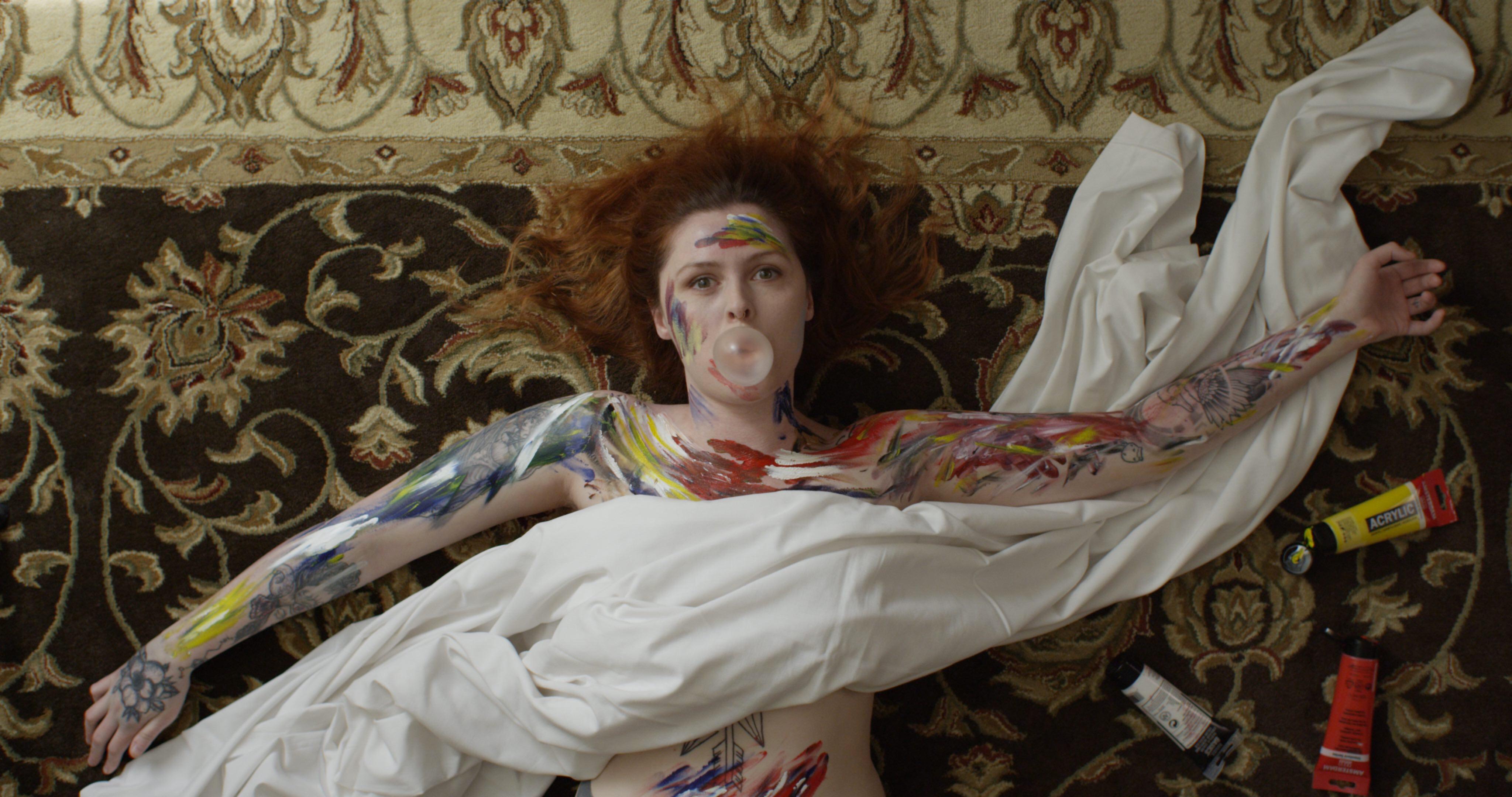 Hannah Browne sex bubble spec ad production design